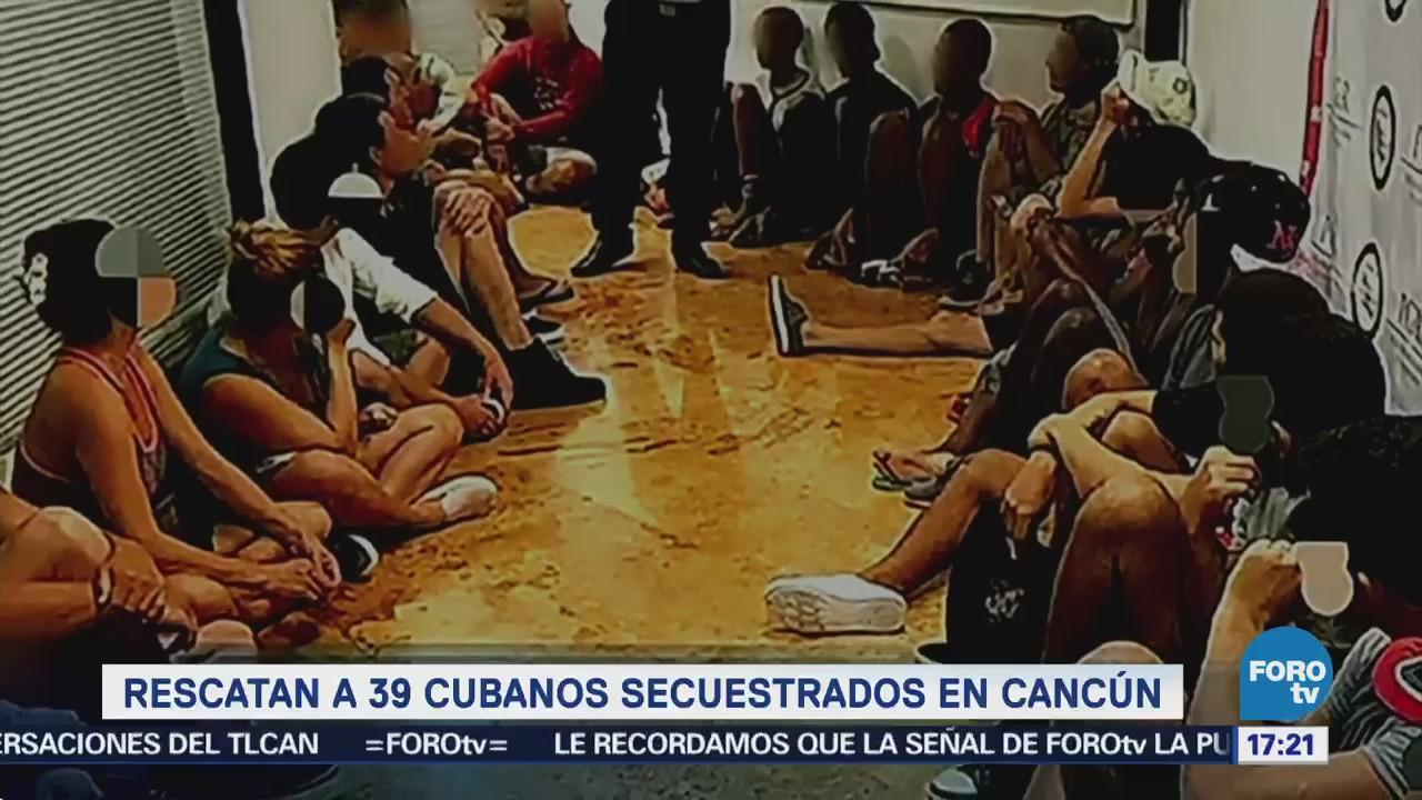 Liberan Cubanos Privados Libertad Cancún Quintana Roo