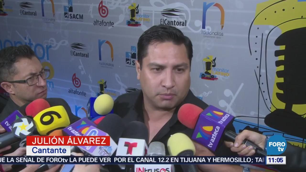 Julión Álvarez habla sobre la acusación que hizo EU