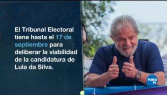 Lula Da Silva Logra Registro Candidato Presidencial Brasil