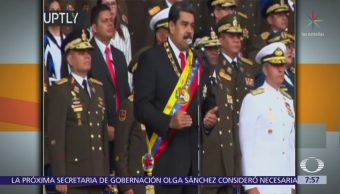 Maduro: Colombia entrenó a autores de atentado