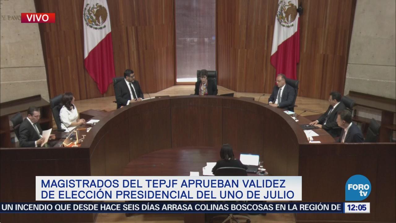Magistrada Otálora: Elección para presidente de México es válida
