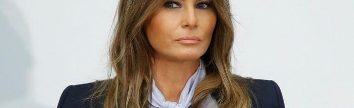 Melania Trump retoma campaña contra el cyberbullying