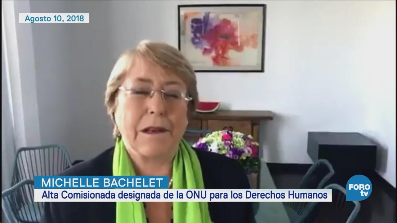 Michelle Bachelet Defensa De Derechos Humanos