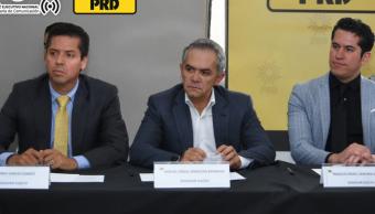Miguel Ángel Mancera coordinará al PRD en el Senado