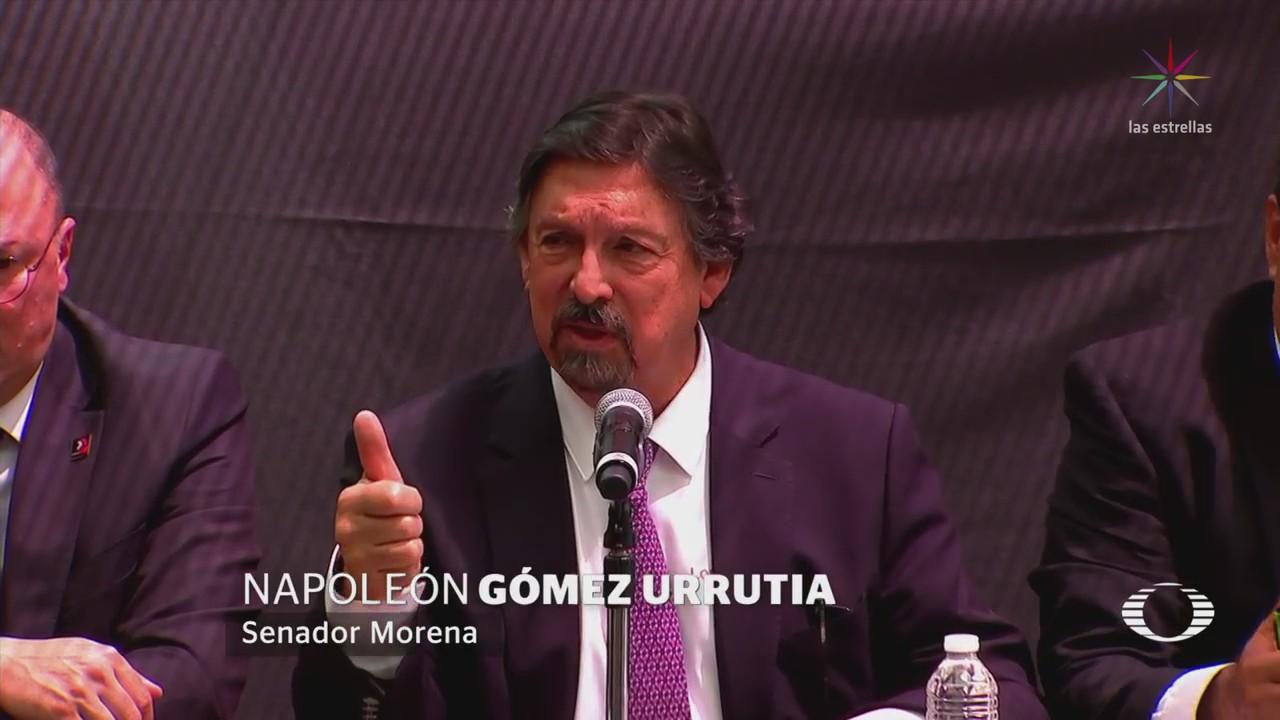 Napoleón Gómez Urrutia Asegura Defenderá Acusaciones En Contra