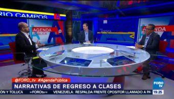 Narrativas Regreso A Clases Omar Estrada, Director De Evidens, Claudio Flores, Vicepresidente De Lexia