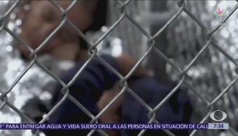 Niños migrantes separados de familia sufrieron