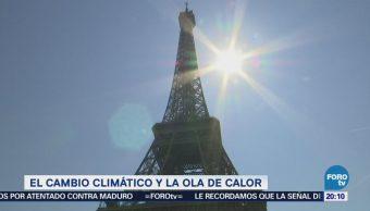 Ola de calor y cambio climático