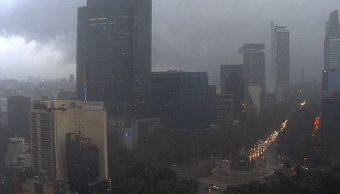 Pronostican tormentas y caída de granizo en CDMX