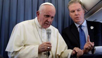 Papa niega responder acusaciones encubrimiento de abusos