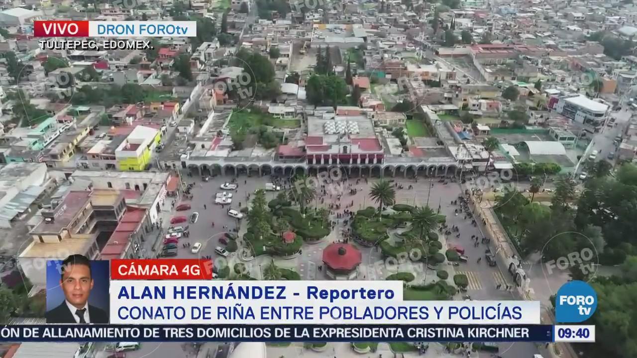 Pobladores de Tultepec esperan respuesta por operativos contra pirotecnia