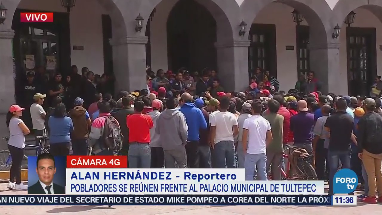 Pobladores de Tultepec se mantienen reunidos, luego de operativos contra pirotecnia