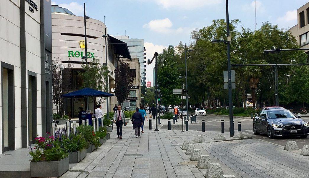 Refuerzan seguridad en Polanco por extorsiones