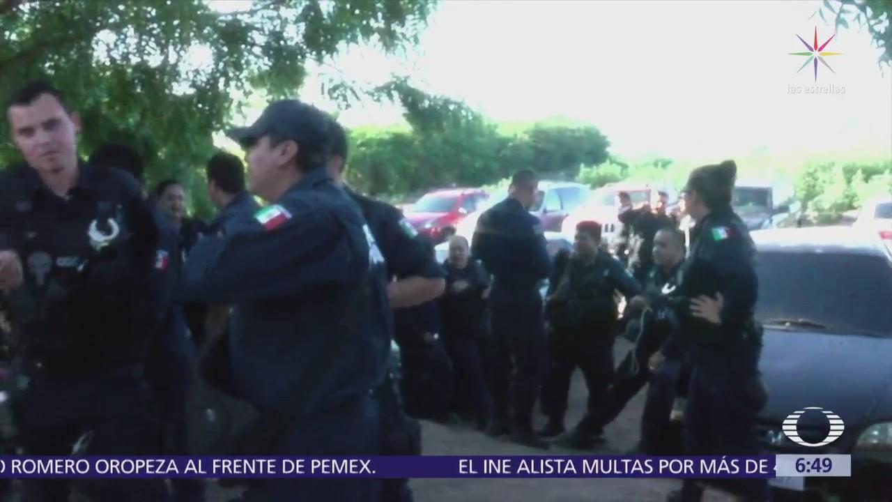 Policías de Sinaloa se niegan a ser custodios en reclusorios
