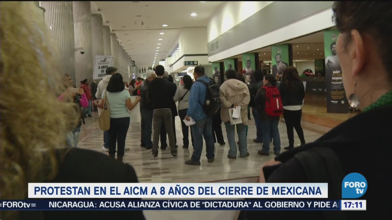 Protestan Aicm Aniversario Cierre Mexicana