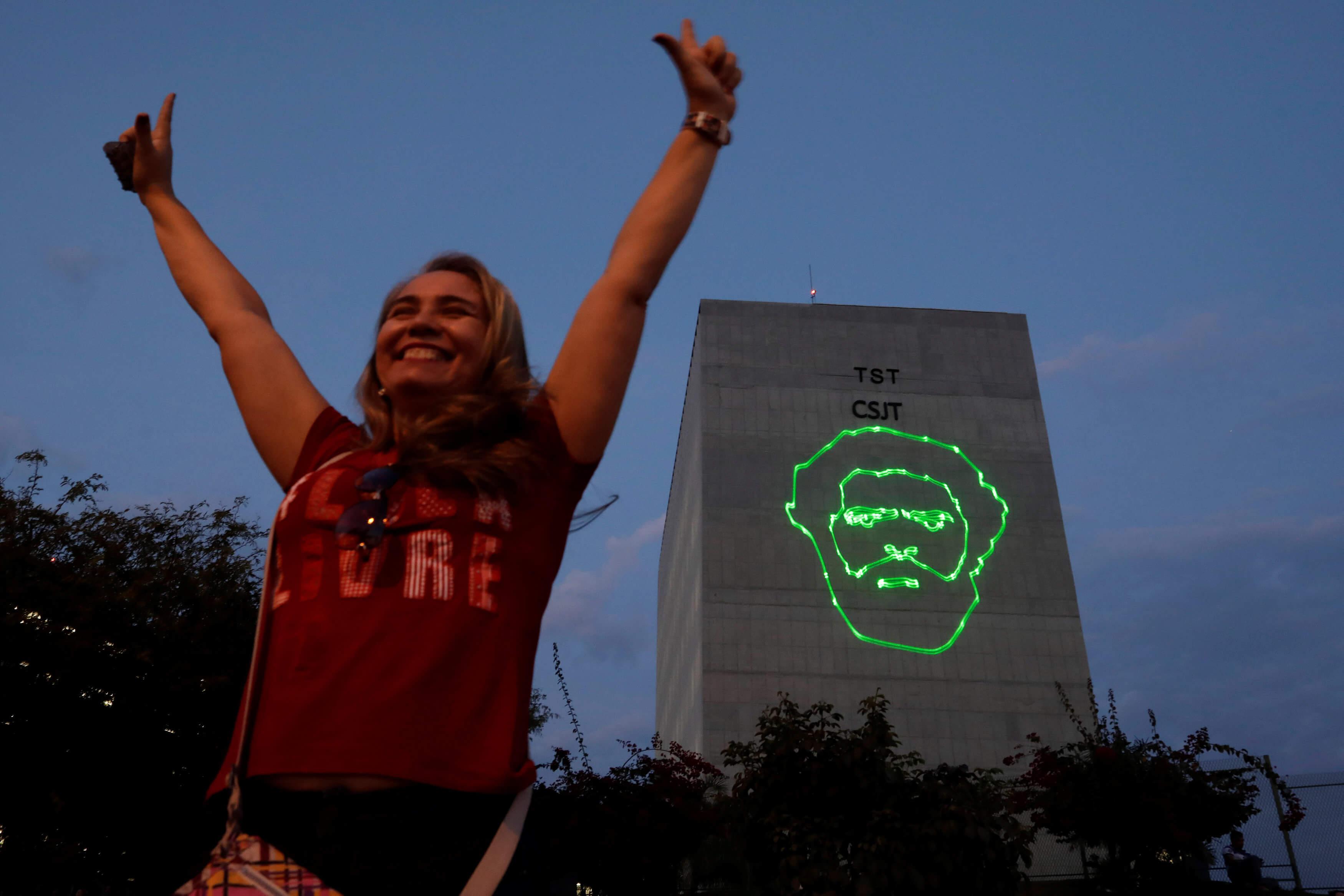PT inscribe a Lula da Silva como candidato presidencial