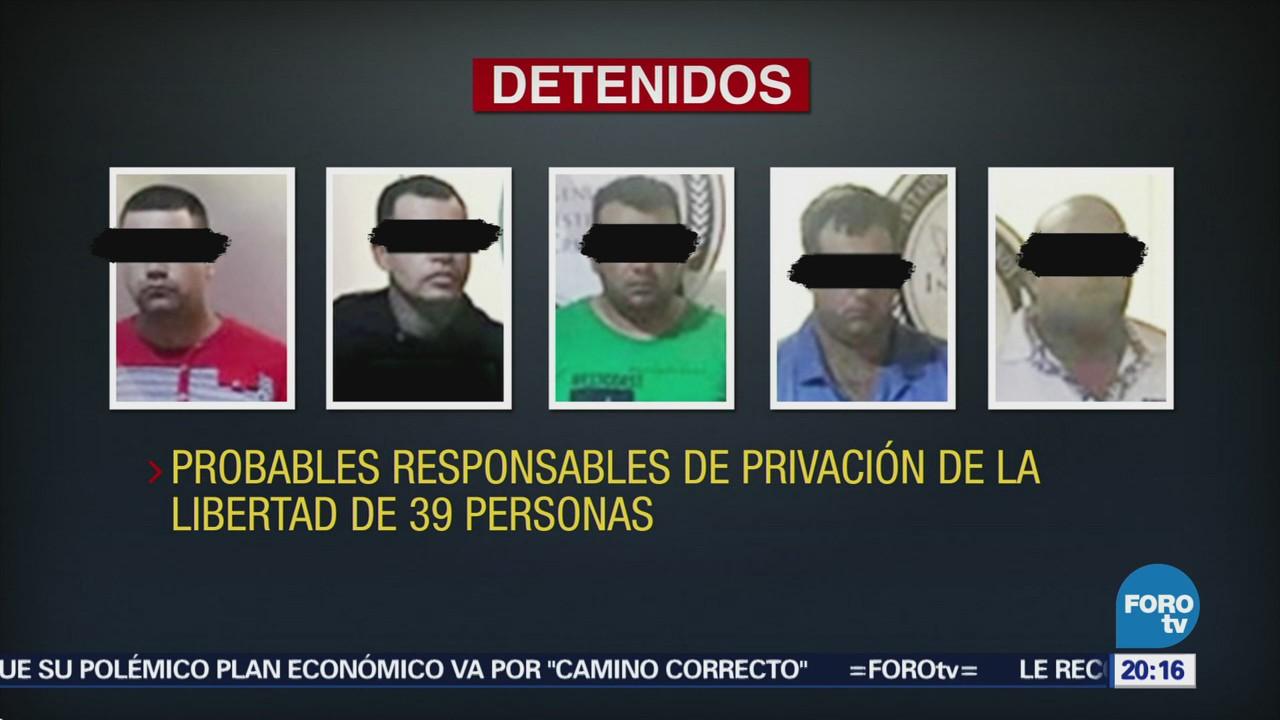 Rescatan 39 Migrantes Cubanos Secuestrados Cancún Quintana Roo