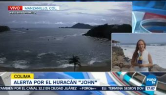 Huracán John Impacta Zona Los Cabos Baja California Sur