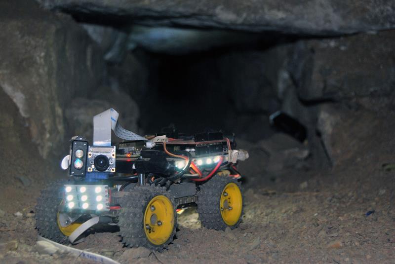 Robots en Perú descubren posibles sacrificios humanos