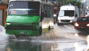 lluvia vialidades venustiano carranza gam cdmx