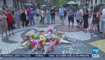 Cumple Un Año Atentado Terrorista Las Ramblas España