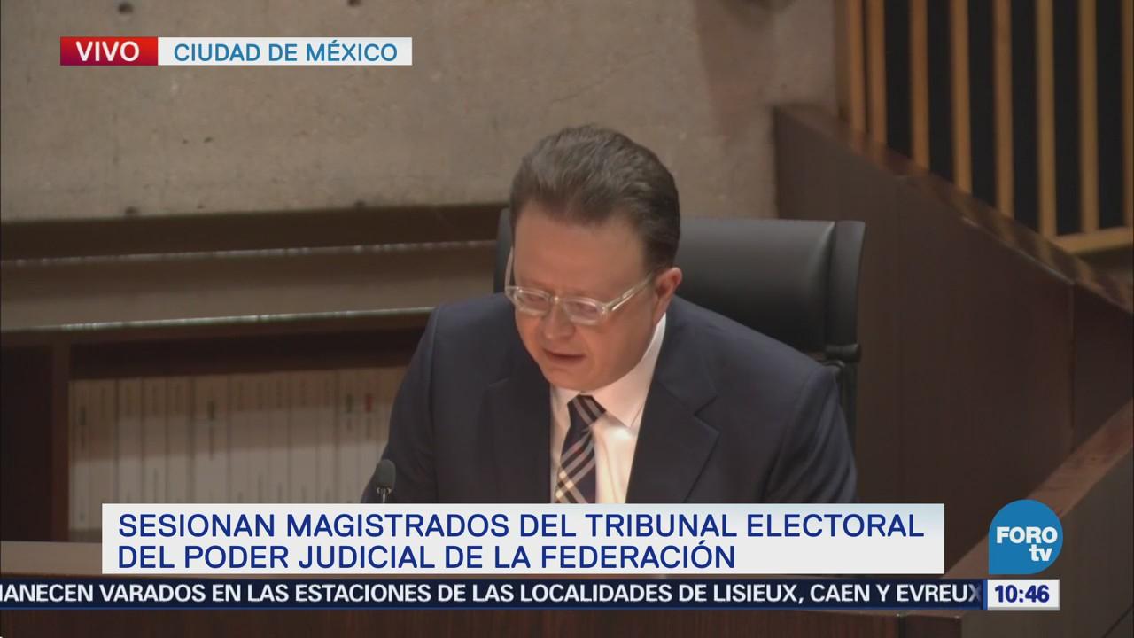 TEPJF aprueba requisitos de AMLO para entrega de constancia de presidente electo