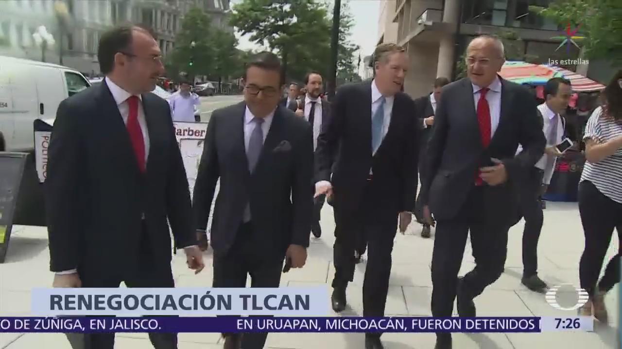 TLCAN: Hoy se reanuda negociación México-Estados Unidos | Noticieros ...