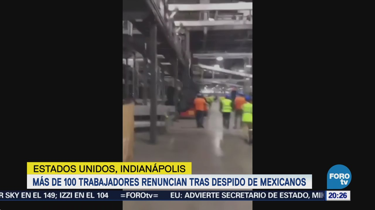 Trabajadores Estadounidenses Renuncian Despido Mexicanos