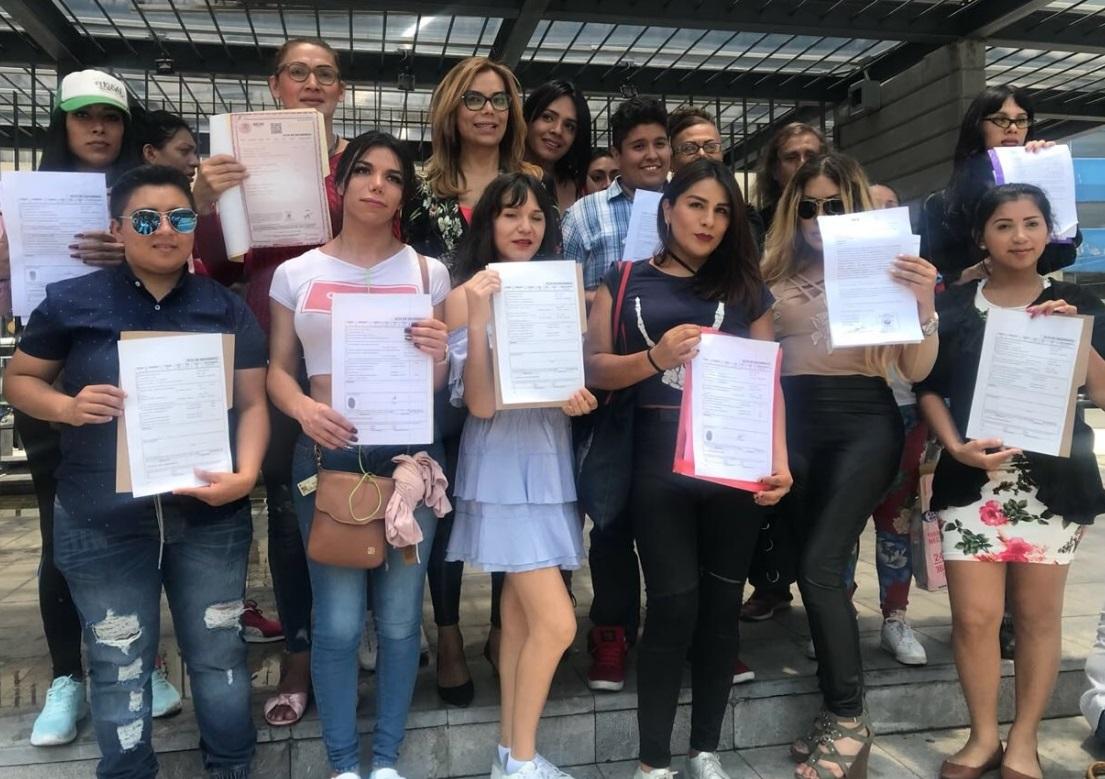 Registro Civil capitalino reasigna a 12 transgéneros