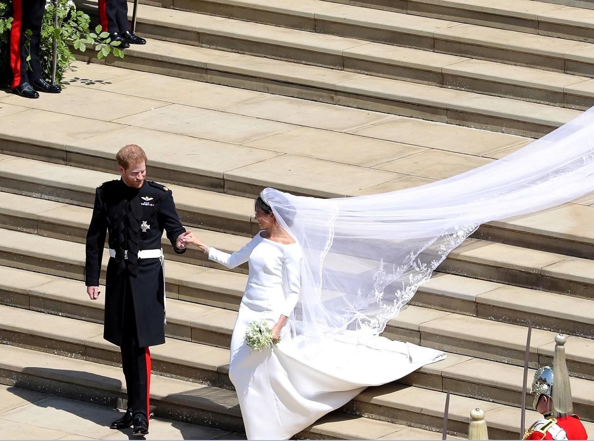 Exhibirán los vestidos de boda de los duques de Sussex