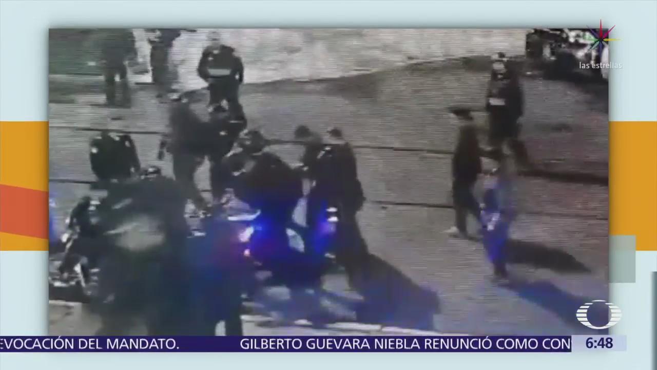 Vinculan a proceso a policía que agredió a fotógrafo del 'Reforma'