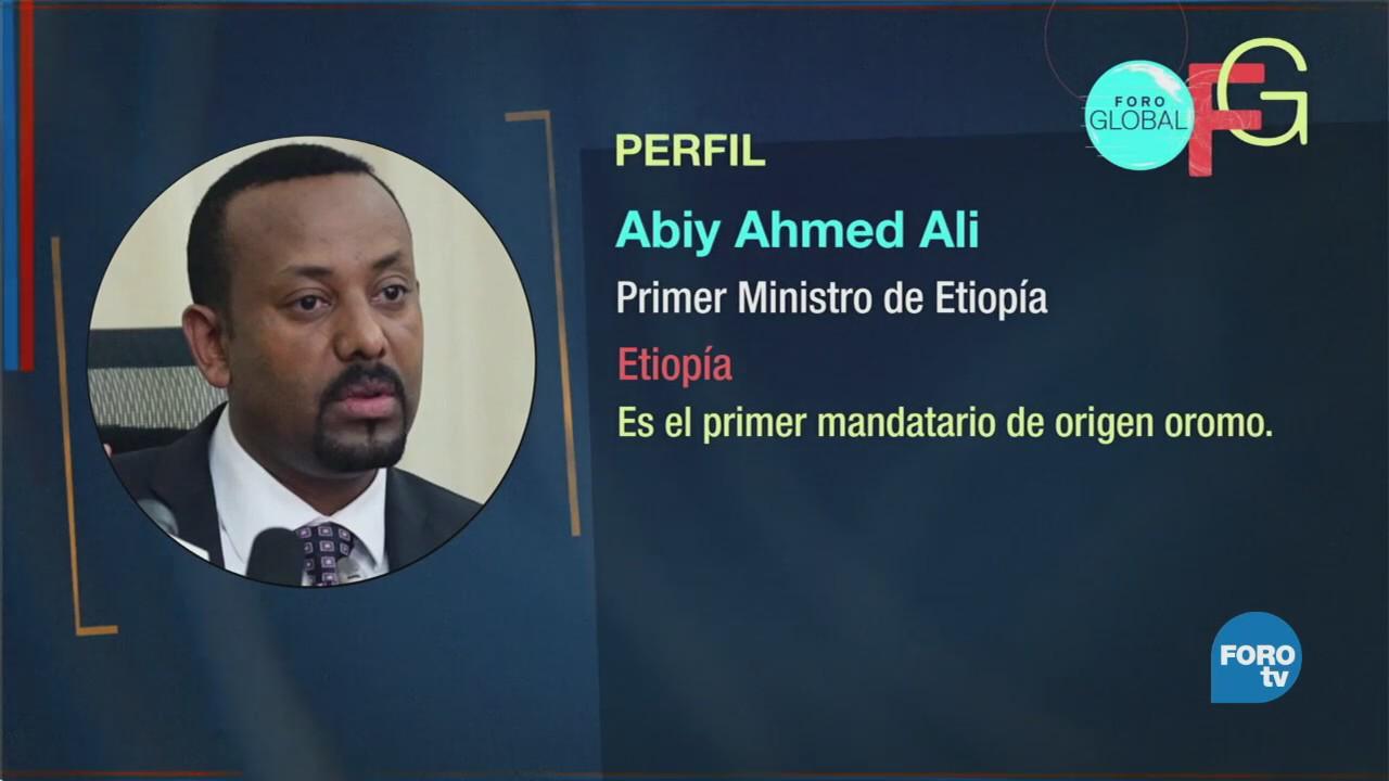 Abiy Ahmed, el mandatario más joven de África