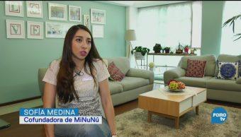Agencia De Niñeras Domicilio Mininú Laura López Sofía Medina Emprendedoras Plataforma En Línea Contratar Niñeras