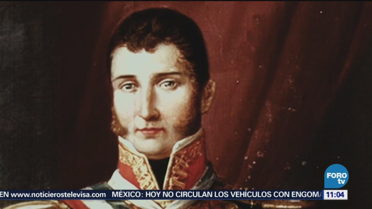 Agustín De Iturbide, Primer Emperador De México Historiador Pedro Fernández Conoce A Agustín De Iturbide