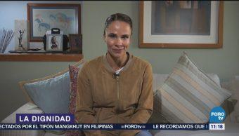 Alejandra Diener habla sobre la dignidad