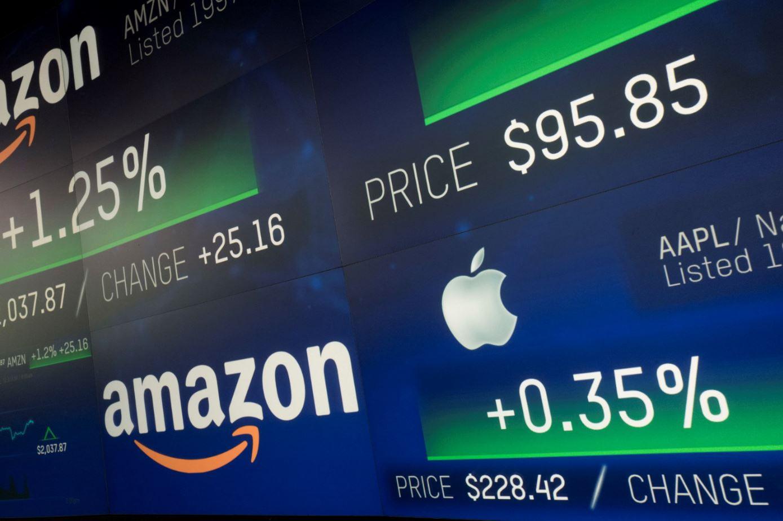 Amazon alcanza valoración de billón de dólares Wall Street