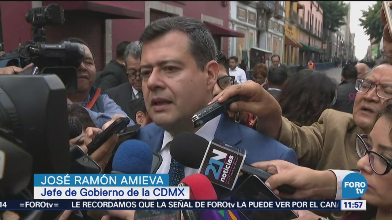Amieva entrega Informe de Gobierno de la CDMX