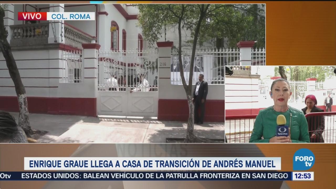 AMLO se reúne con rector de UNAM en casa de transición