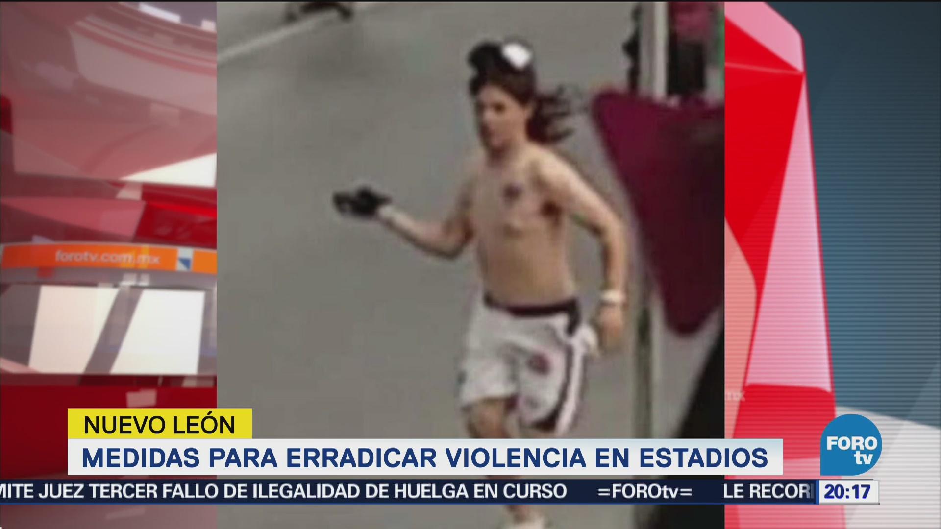 Anuncian Medidas Erradicar Violencia Estadios Futbol
