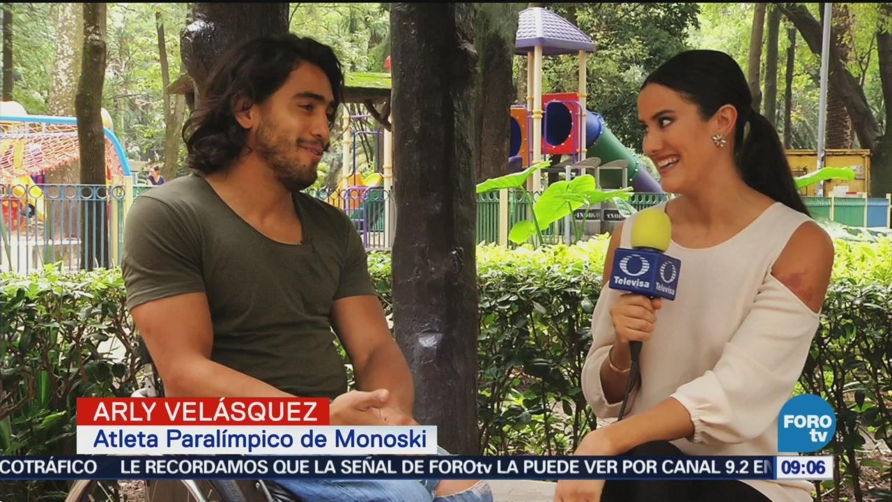 Arly Velázquez Atleta Mexicano Paralímpico De Monoski