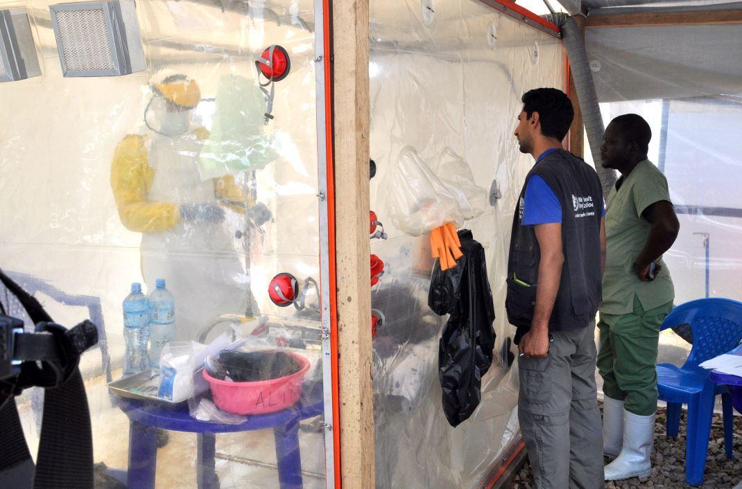 Muertes por ébola en el Congo ascienden a 97 casos probables