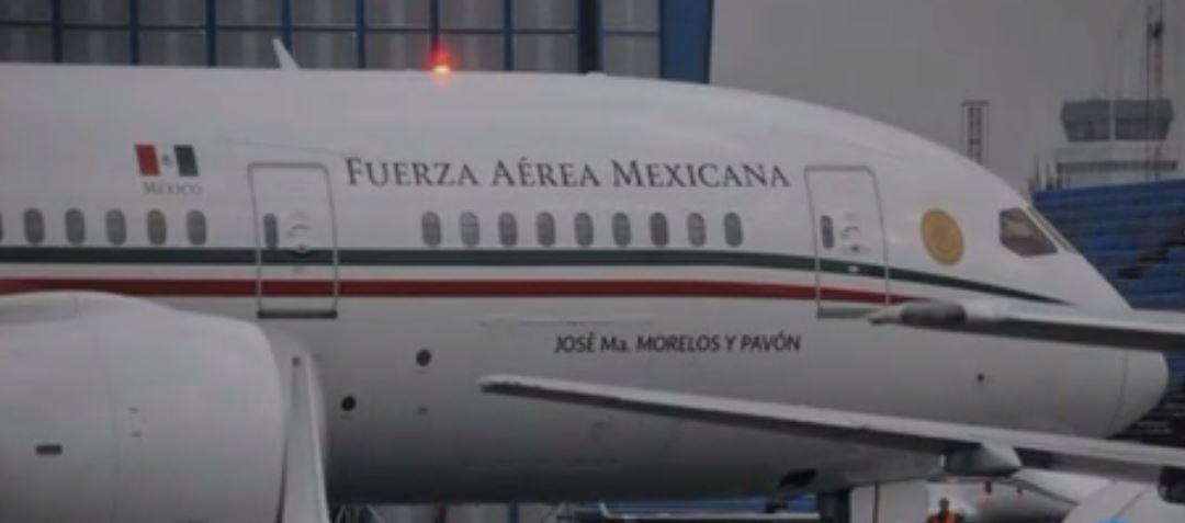 Foto Avión Presidencial Venta 27 Marzo 2019
