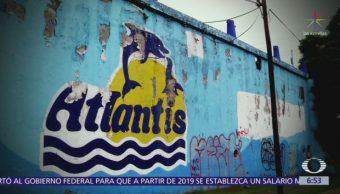 Bosque de Chapultepec recupera terreno exacuario Atlantis