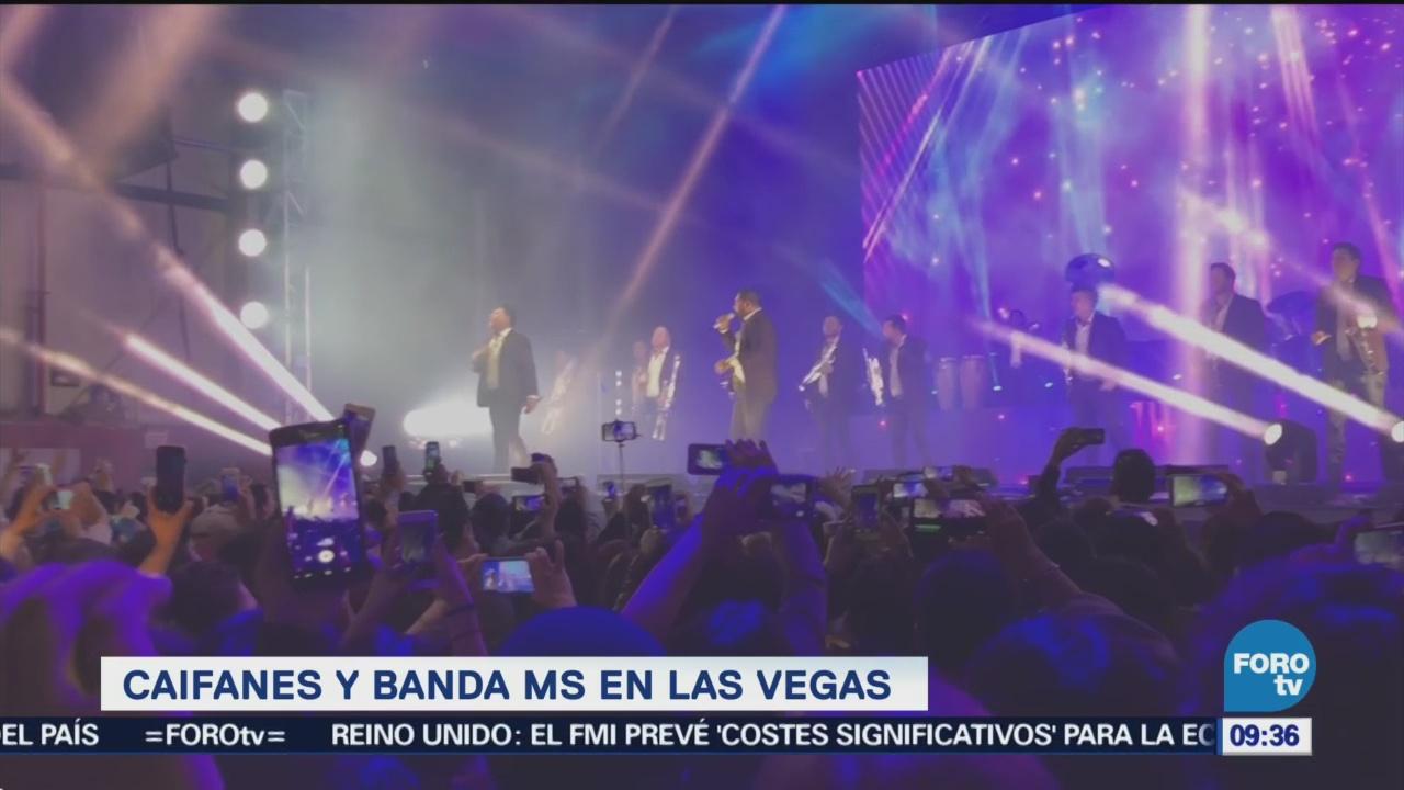Caifanes y Banda MS llevan espectáculo a Las Vegas
