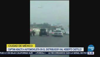 Captan asalto a conductor en la CDMX