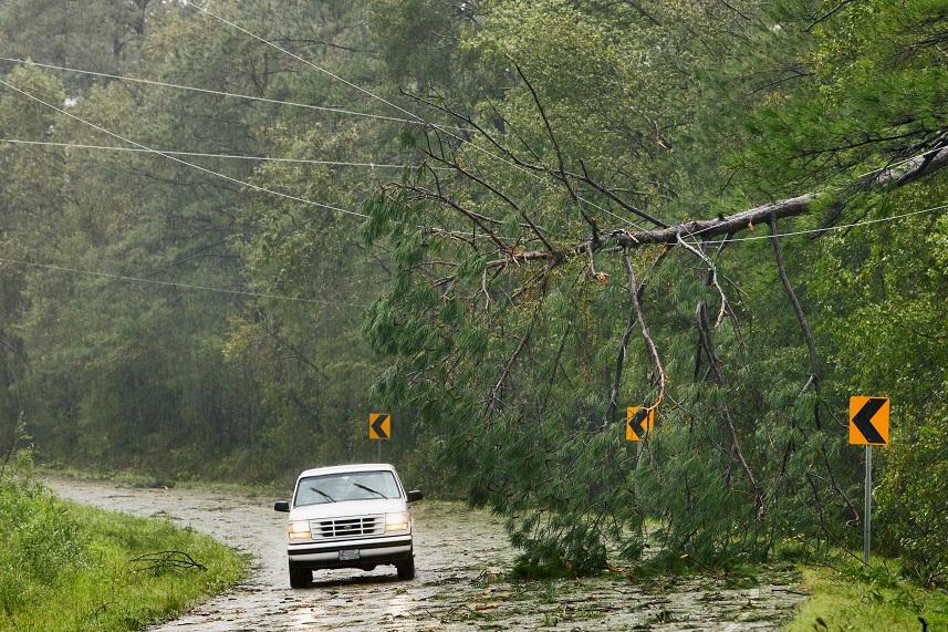 Florence continua con inundaciones en las Carolinas