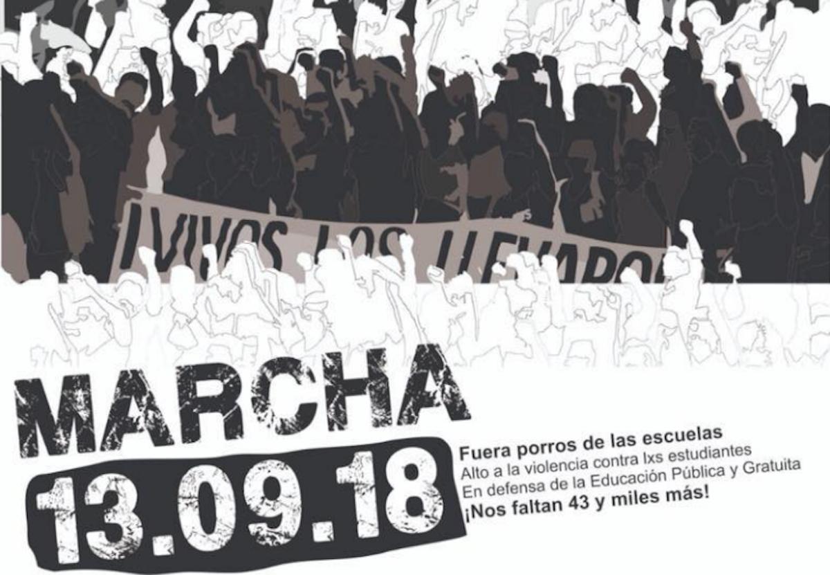 UNAM Marcha Estudiantes 1968 Convocan Cartel