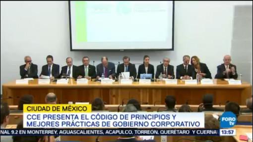 Cce Presenta Código Principios Prácticas Corporativas