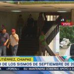 Chiapas participa en macrosimulacro