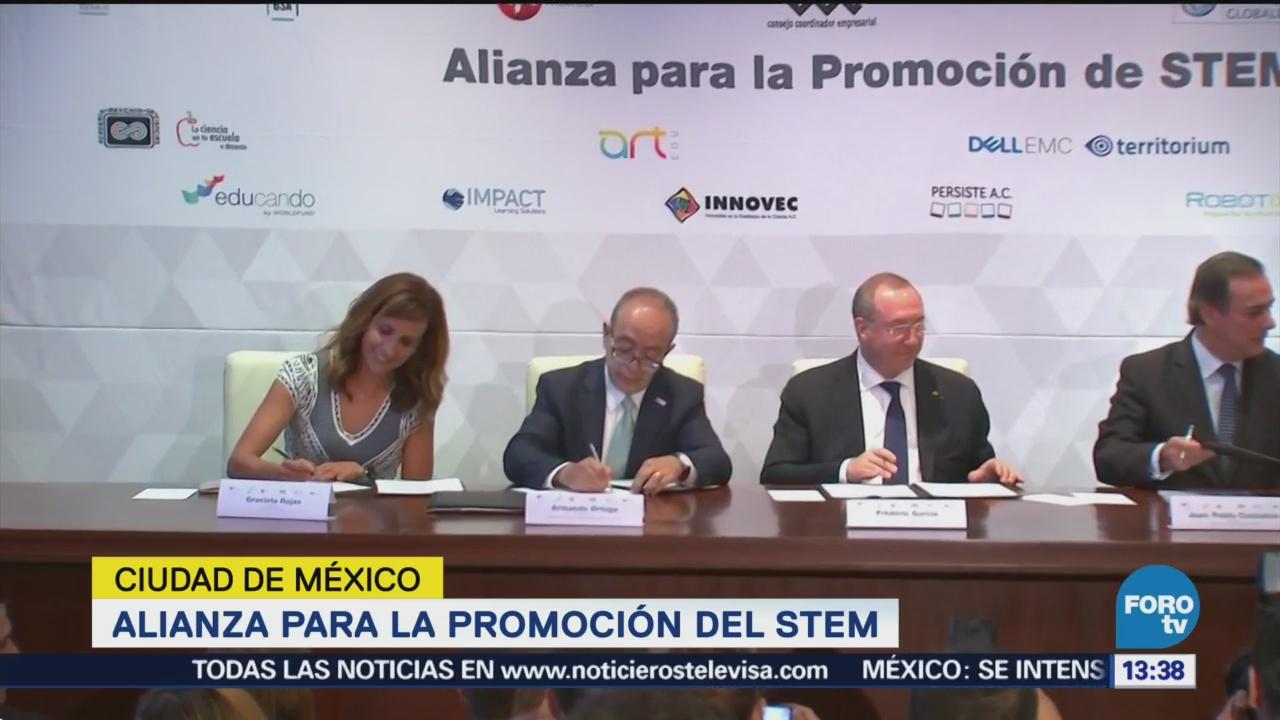 Concamin y CCE anuncian alianza para promoción del STEM